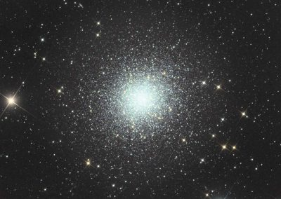 "M13 Hercules Star Cluster by G. Fountain, 10"" Imaging Dall Kirkham, QSI683"