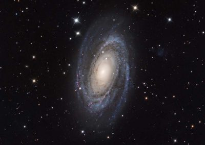 "M81 Bodes Galaxy by G. Fountain, 10"" Imaging Dall Kirkham, QSI683"