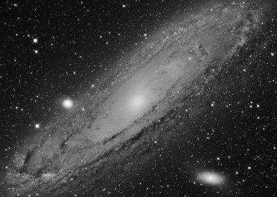 M31 Andromeda Galaxy by S. Johnson