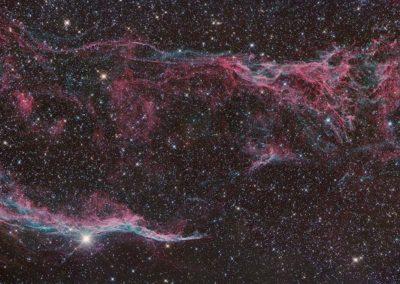 Veil Nebula by S. Johnson