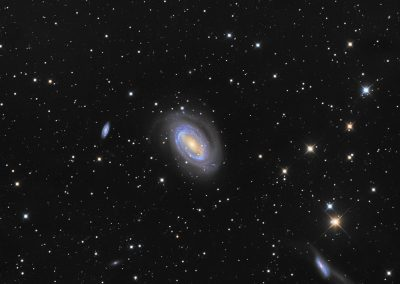 "NGC4725 by M. Miller, 12.5"" Imaging Dall Kirkham, Apogee U16M"